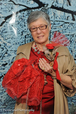Coco Cornish Rex Fashion Show NYC