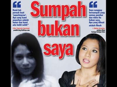 Badut Rakyat Isu Gambar Bogel Melia Aimelia Blogger Rotikaya Dedahkan Bukti