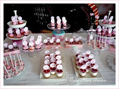 mesa dulce comunión niña