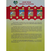 Buku Anak Islam Belajar Berhitung AIBB Jilid 1-4 Nurani Bunda