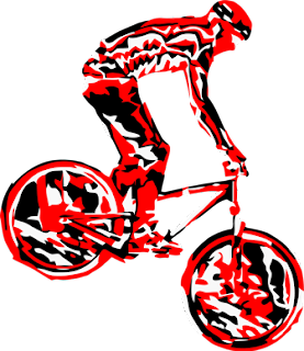 Mountain Bike Clipart