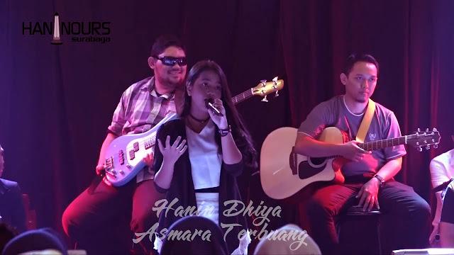 Kunci Gitar Hanin Dhiya – Asmara Terbuang
