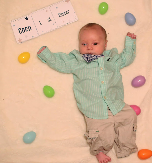 Baby's First Easter Pictures