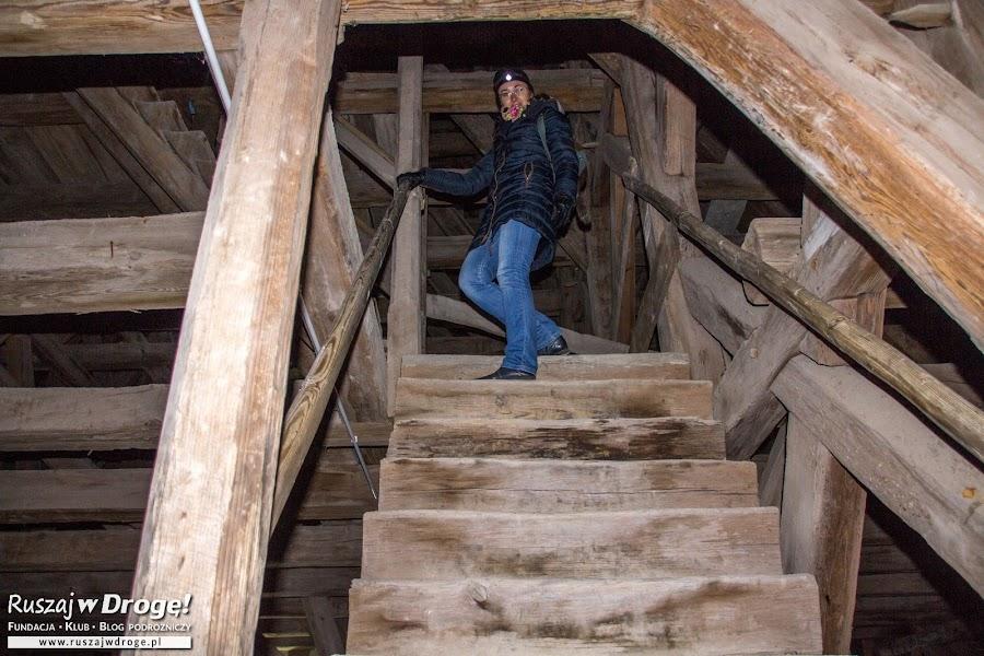 Wejście na dzwonnicę Katedry we Fromborku