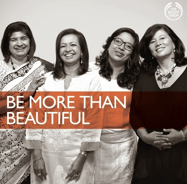 Be More Than Beautiful, The Body Shop, Datin Paduka Marina Mahathir, Dato Ambiga Sreenevasan, Ivy Josiah, Zainah Anwar, The Body Shop 30 Anniversary