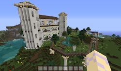 My Minecraft Elvish Build Random!Kelsey