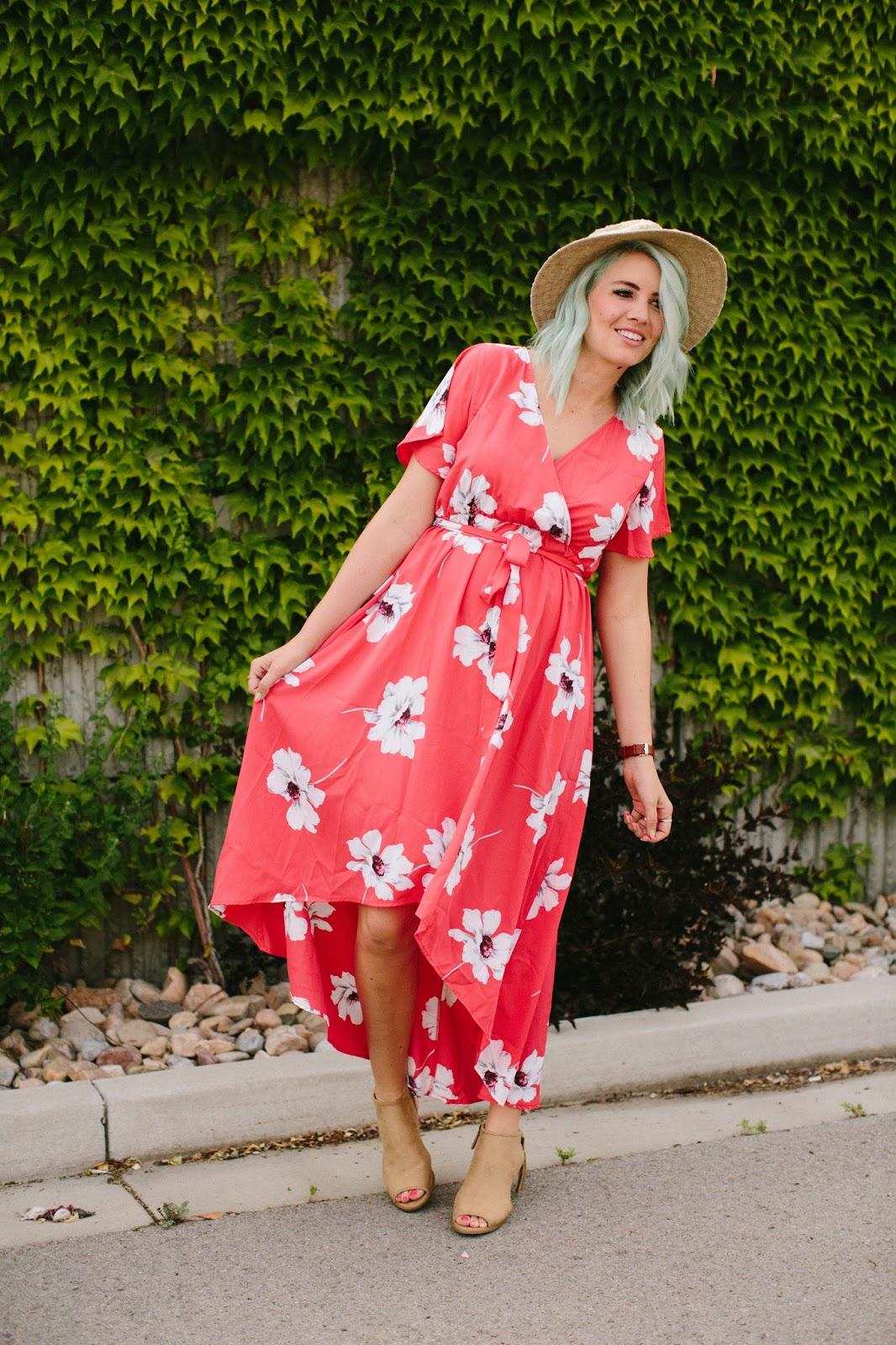 Hi Low Dress, Love Winnie James, Modest Dress