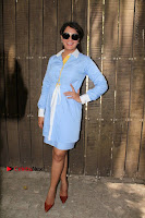 Richa Chadda Latest Pos in Blue Short Dress at the Screening Of Short Film Khoon Aali Chithi  0028.jpg