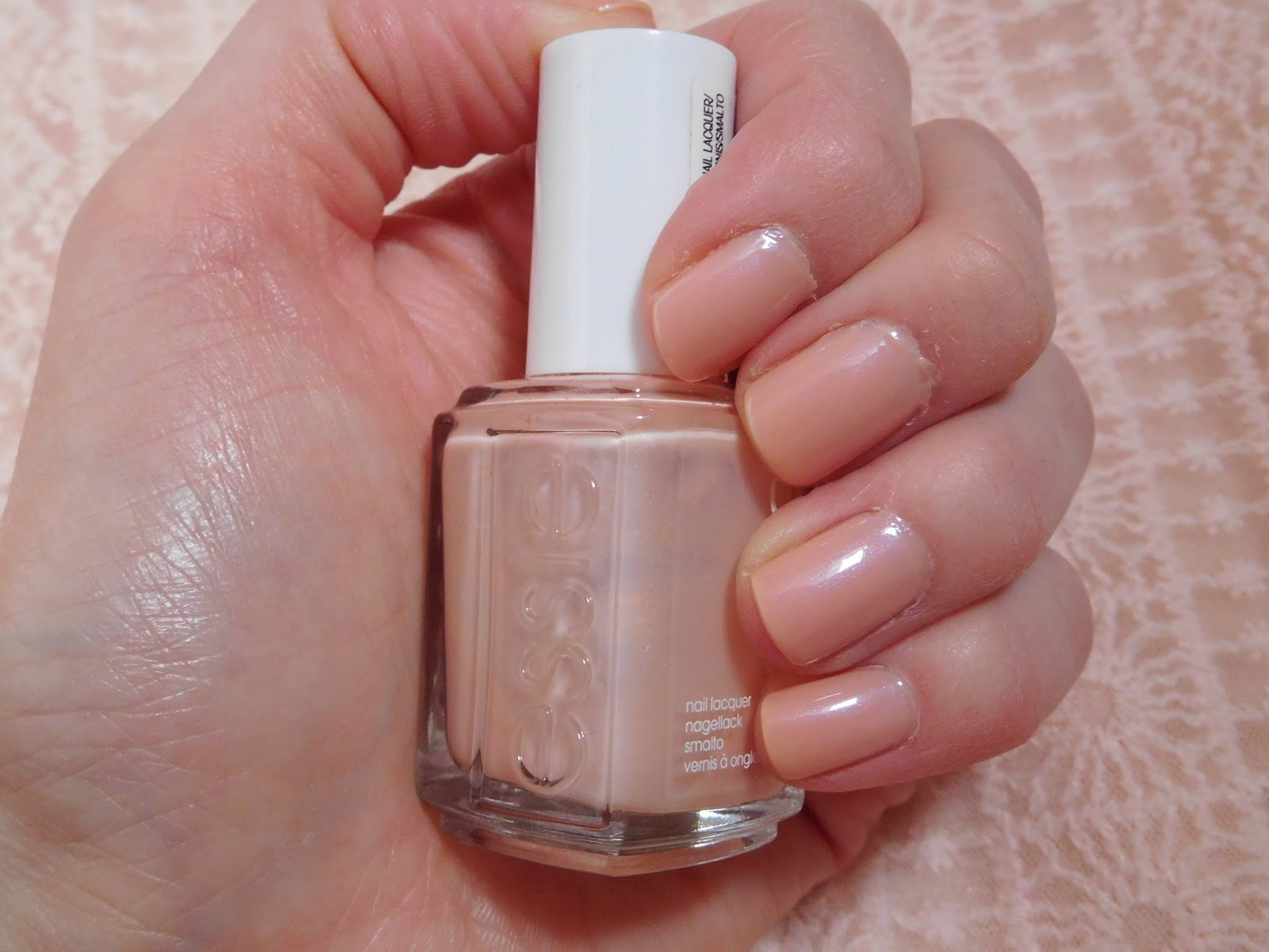 This Polish Came Out In The Bridal 2015 Collection And Is A Sheer It Peach Colour Which Has Lovely Shimmer Running Through