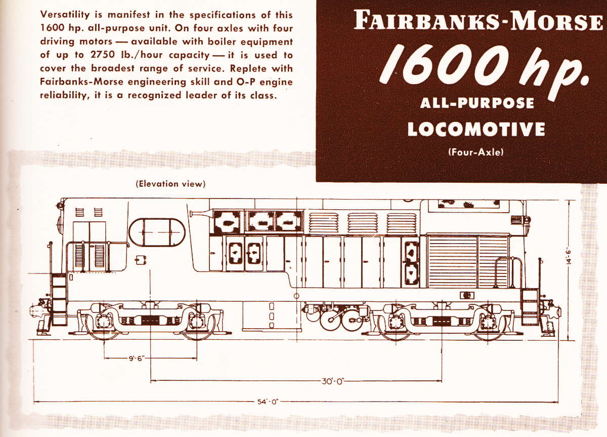 Rolly Martin Country: CLC Freight Locomotives - H16-44 H12 ... on