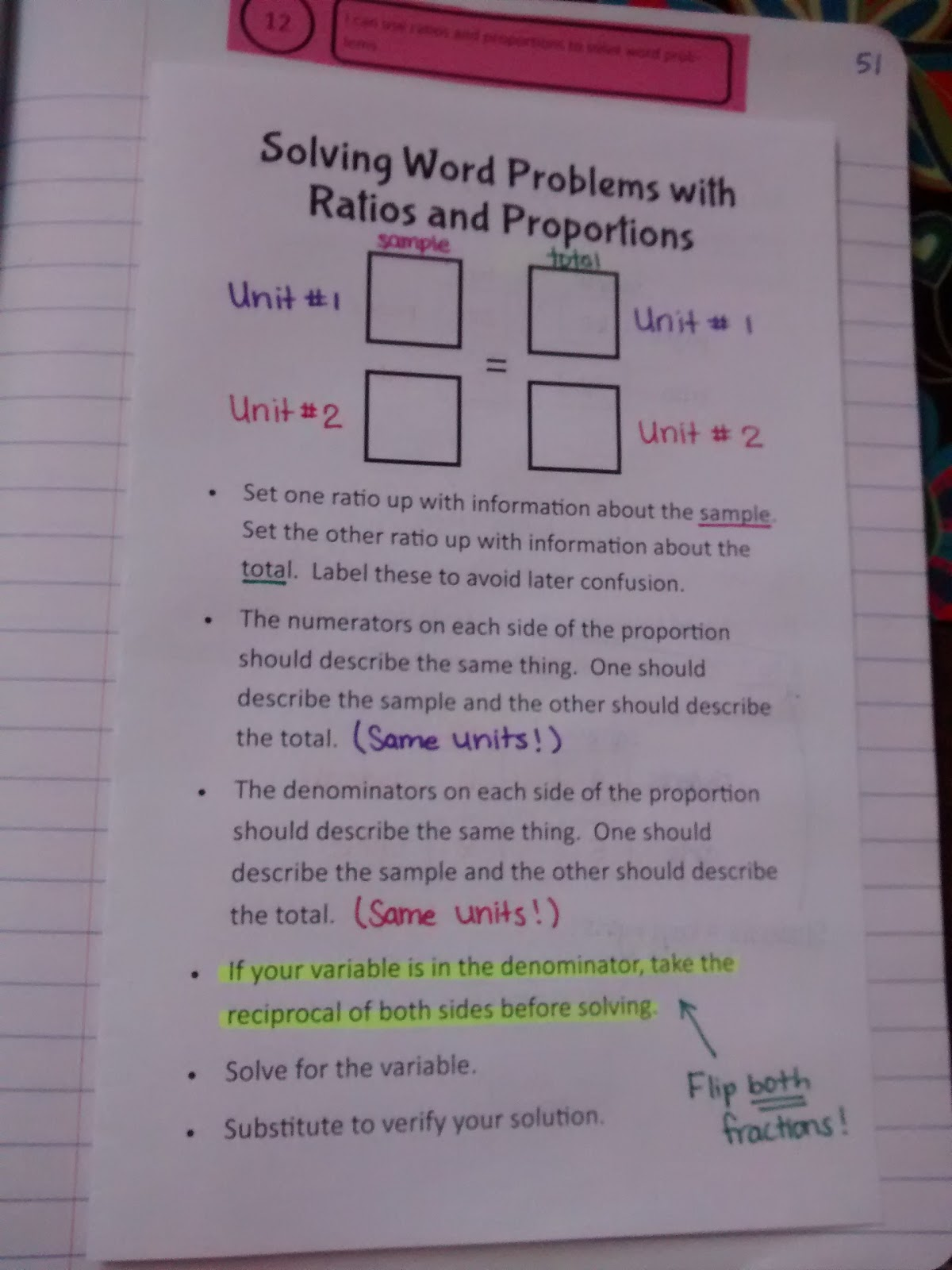 Math Love Solving Word Problems With Ratios And Proportions
