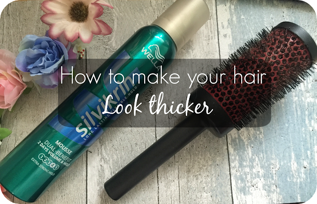 tips on making your hair look thicker