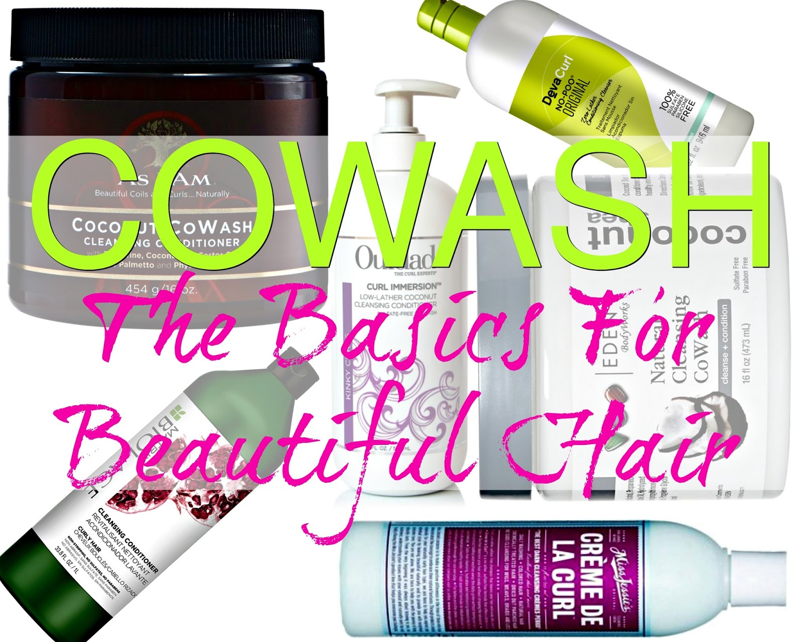 Cowash, cowashing, condition wash conditioner wash, whatever or however you choose to call it, you need it. You also need the basics & we got it!