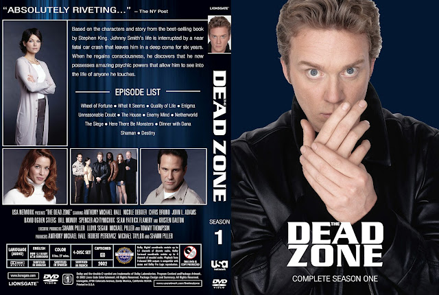 Dead Zone Season 1 DVD Cover