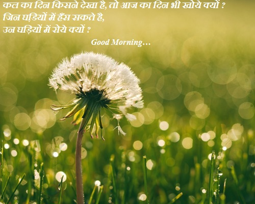 Good Morning Images Wishes In Hindi