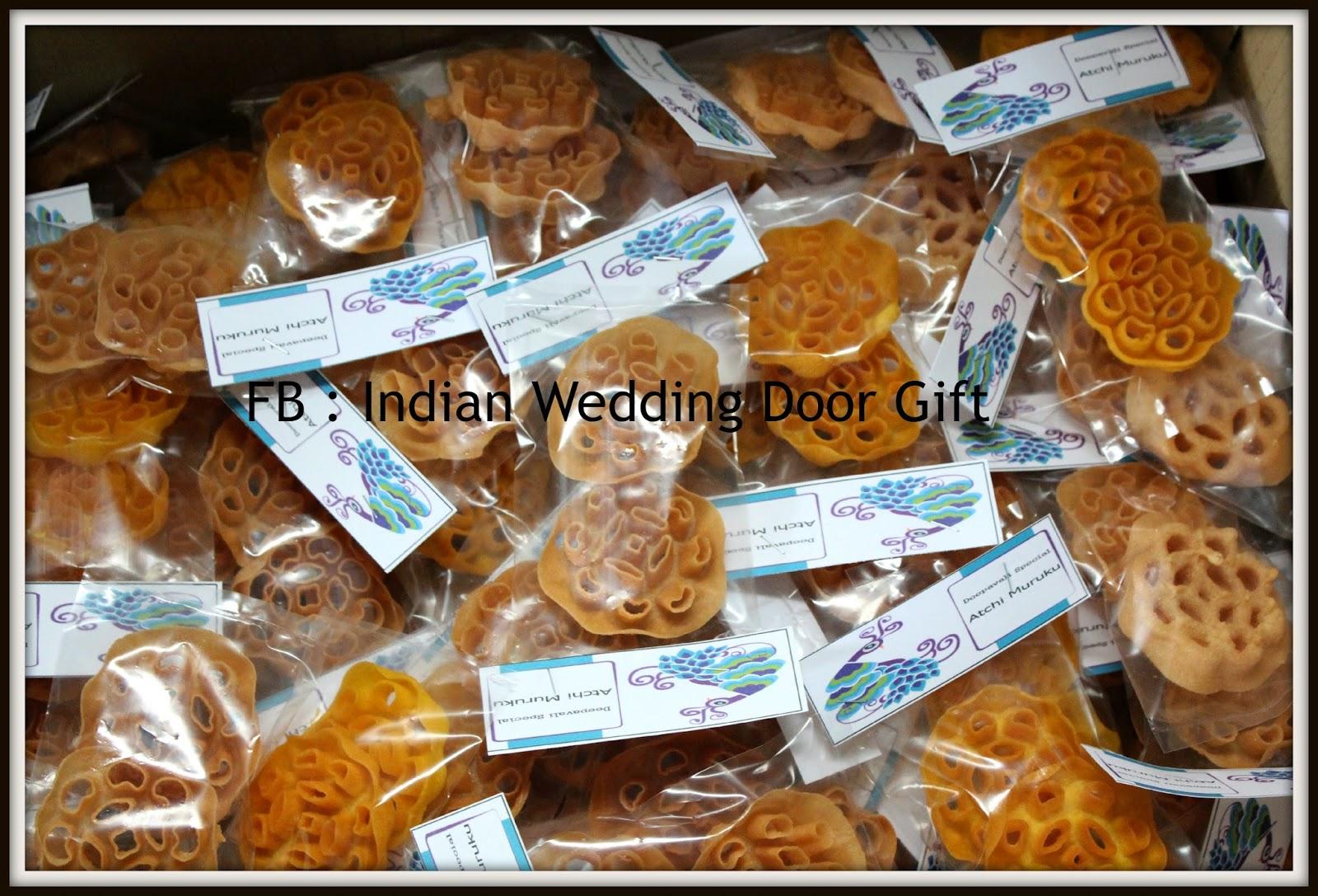 Wedding Door Gift: Indian Wedding Door Gift: Customer's Order (All Variety Of