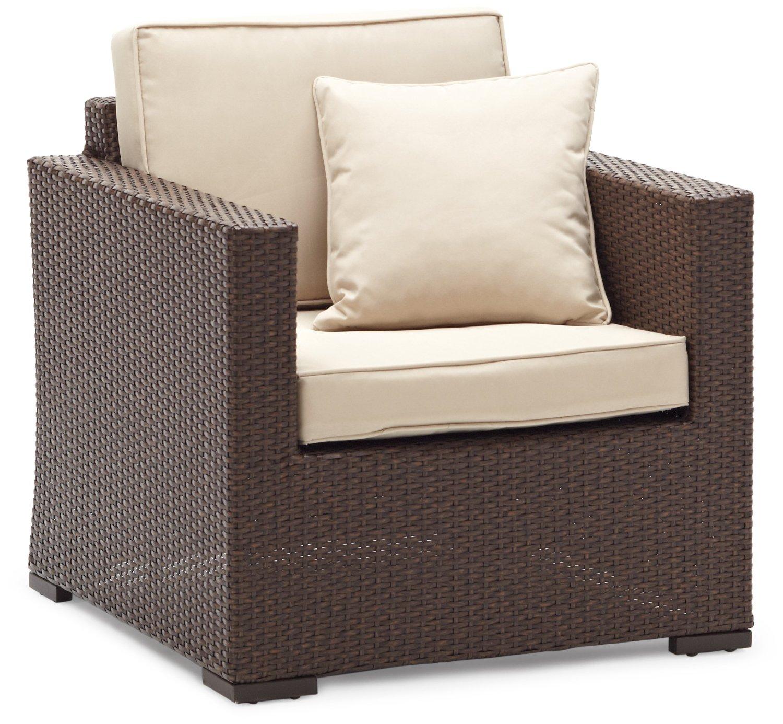 Strathwood Griffen Furniture All Weather Wicker Chair