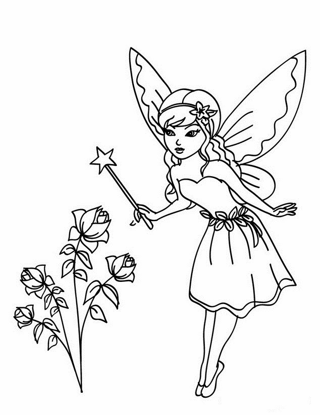 Cool Beautiful Fairy Colour Drawing HD Wallpaper Free Download