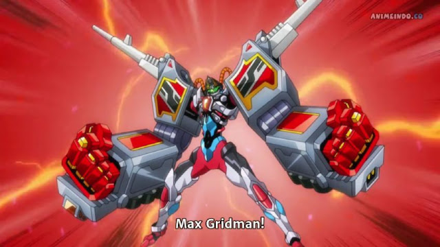 Review Anime SSSS Gridman