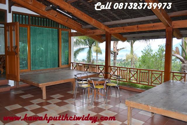 Berwisata dan menginap di villa kawah putih dari tasikmalaya