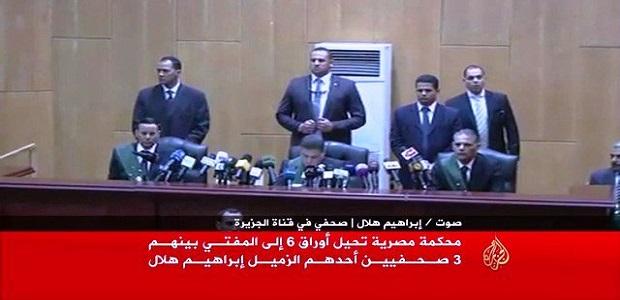 مدير اخبار قناة الجزيرة : إعدامى قرار سياسى ولاىيستند لادلة
