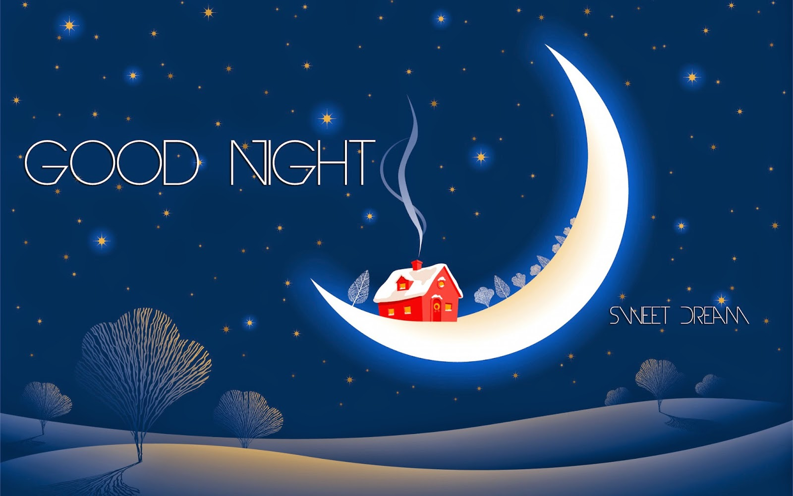 Good Night With Beautiful Image: Good Night Message And Pictures