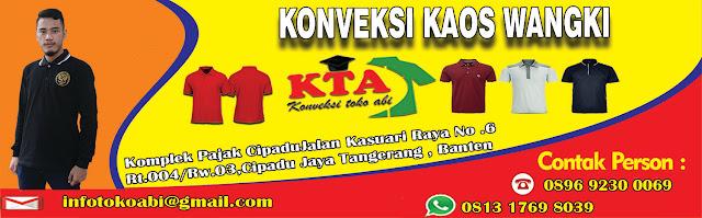 Jasa Bikin Kaos Wangki Murah Jakarta Utara