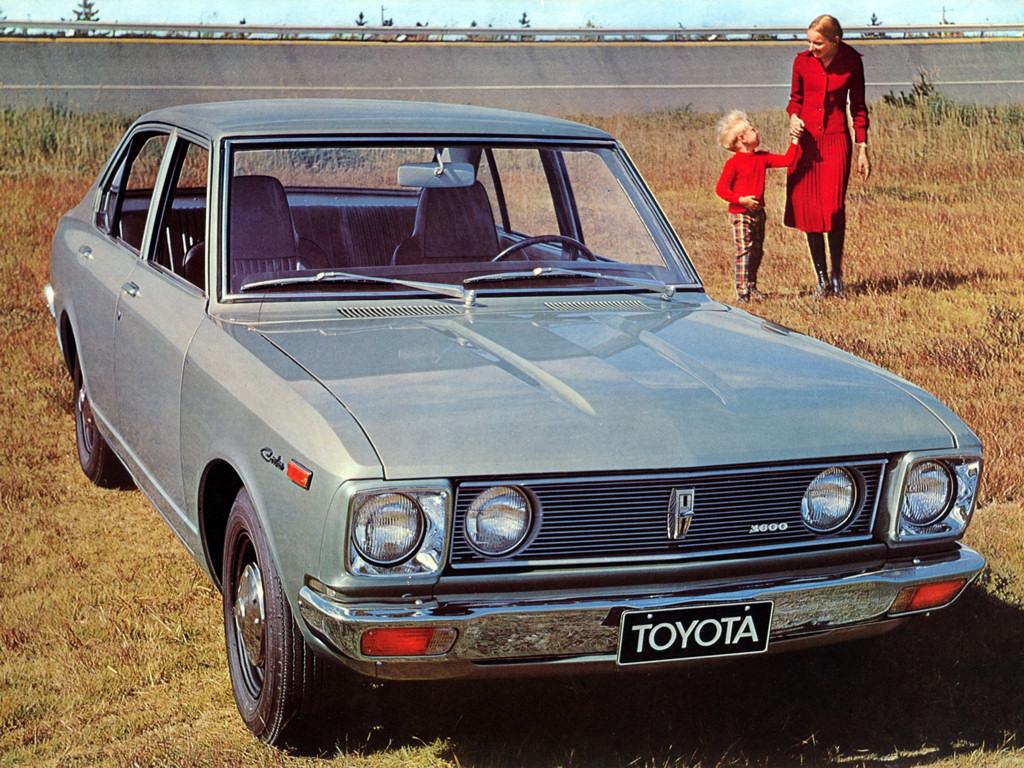 Toyota carina 4 door eu 1970