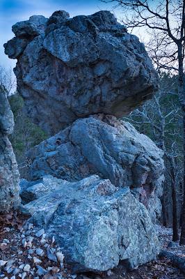 Balanced Rock, Hot Springs National Park