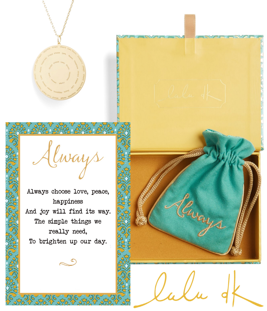 LULU DK Always Choose Love Pendant