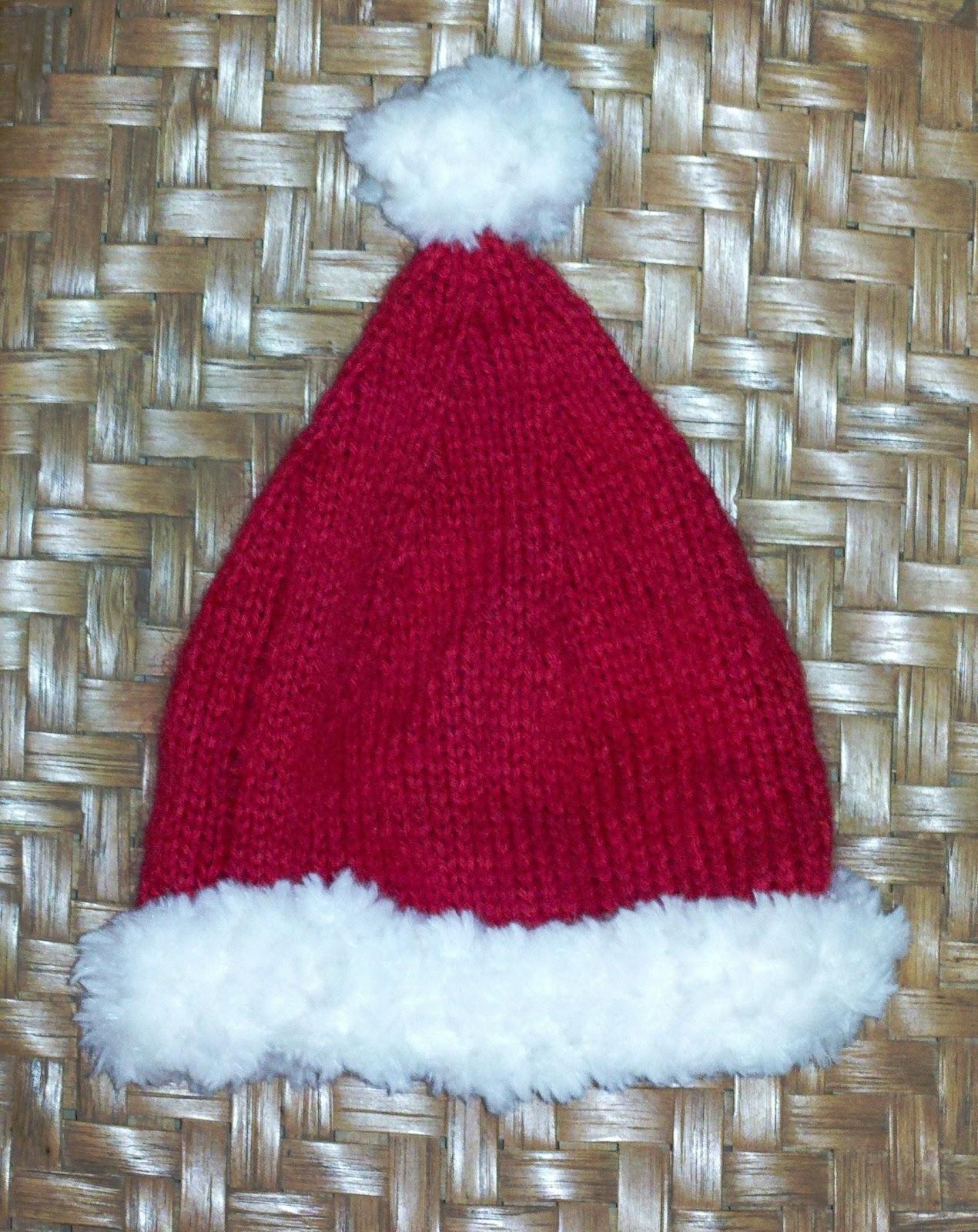 Free Pattern: Highlands Baby Santa Hat