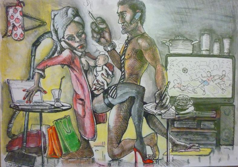 """Η έκθεση ζωγραφικής και γελοιογραφίας """"Ερωτισμός στην Τέχνη"""" έλαβε τέλος"""