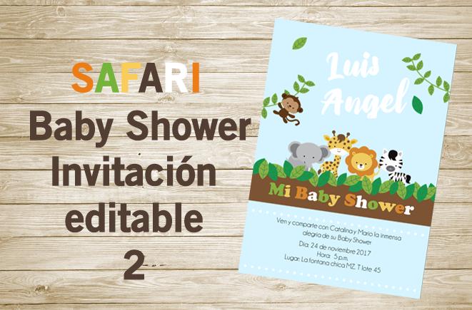 Baby Shower Invitaciones Digitales Party Pop
