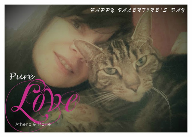 Pure Love Cat and Mum Valentine