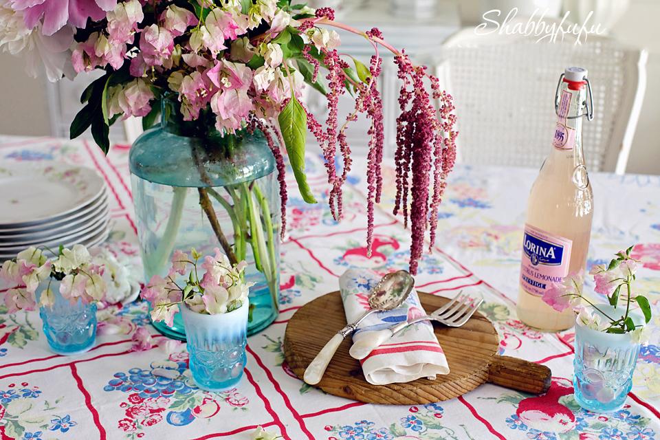 cottage vintage dining table