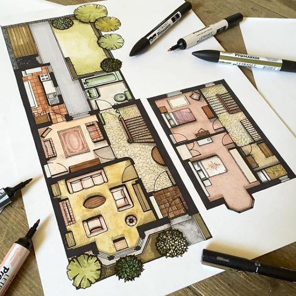 como-desenhar-uma-planta-baixa-a-mao