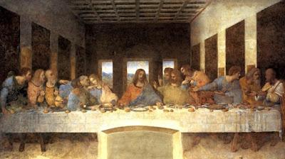 Тайная вечеря где сидит Иуда