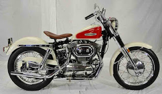 sportster xlch 1958 red and white