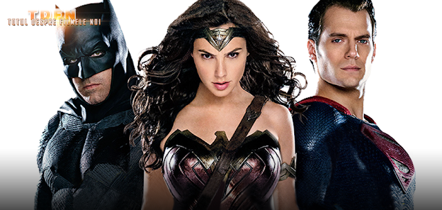 Batman alături de Wonder Woman şi Superman în Batman V Superman: Dawn Of Justice