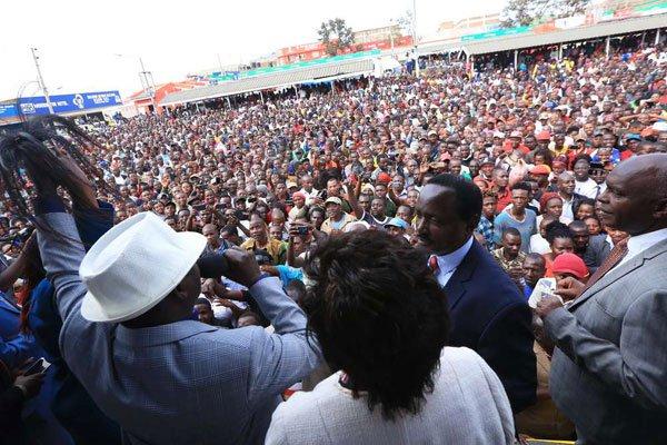 Raila reveals why he agreed to meet Uhuru in private