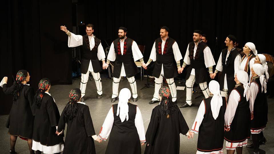 Μουσικο-Χορευτική Παράσταση Λαογραφικού Ομίλου Πολυγύρου