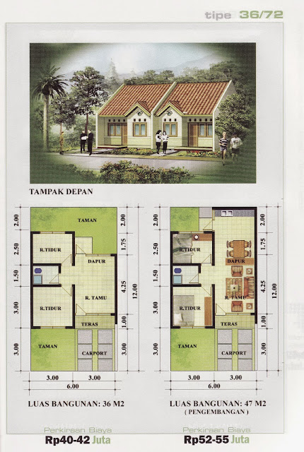 Contoh Denah Rumah Minimalis Sederhana Terbaru