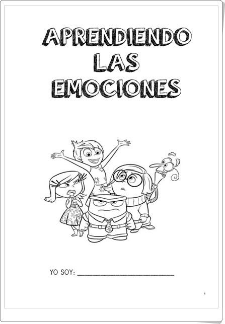 """Cuaderno """"Aprendiendo las emociones 1"""" (Educación Emocional de Primaria)"""