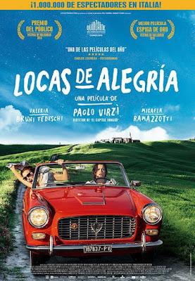 La Pazza Gioia 2016 DVD R2 PAL Spanish