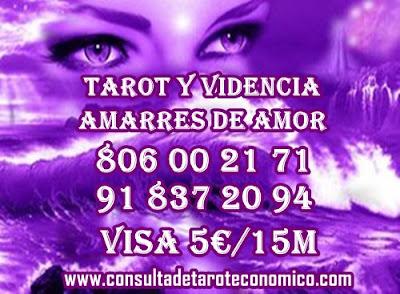 La tirada de cartas de tarot muy rápidas, consultas baratas y sencillas 5€/15m