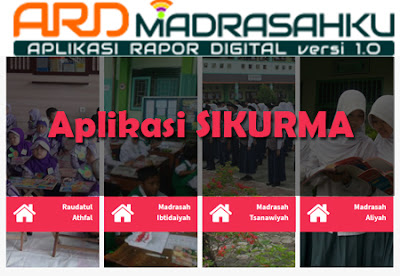 SIKURMA, Sistem Informasi Kurikulum Madrasah Aplikasi Raport Digital