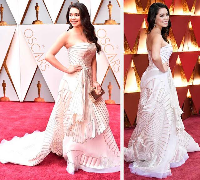 Vestido Auli i Cravalhor no Oscar 2017