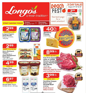 Longos Flyer a fresh tradition valid August 11 - 24, 2017
