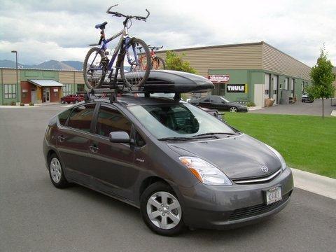 Custom Roof Rack for 2006 Toyota Pruis - Backcountry Racks