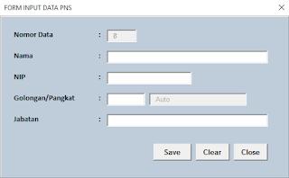 Aplikasi Excel Contoh Surat Tugas
